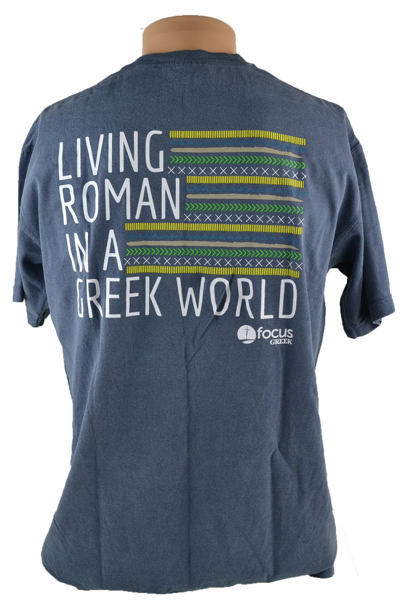 FOCUS Greek Comfort Colors Denim T-shirt