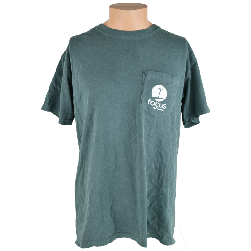 On Mission Tee T-Shirt - Blue Spruce