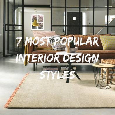 7 Most Popular Interior Design Styles