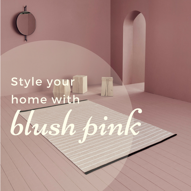 Style Your Home With Blush Pink
