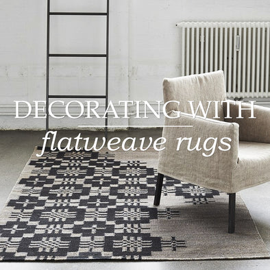 Decorating With Flatweave Rugs