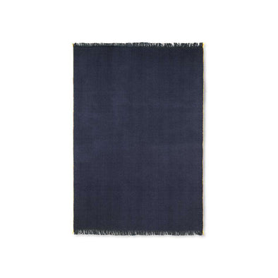 Herringbone Blanket Dark Blue