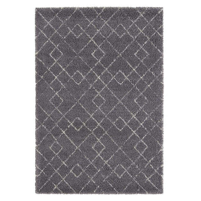 Design Verlours Deep Pile Carpet Archer Grey