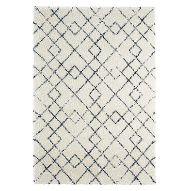 Design Verlours Deep Pile Carpet Archer Creme