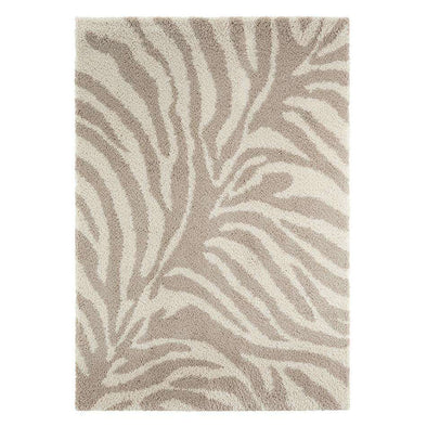 Design Verlours Deep Pile Carpet Desert Beige Cream