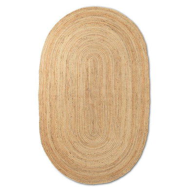 Eternal Jute Natural Oval Rug