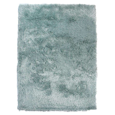 Dazzle Duck Egg Plain Shaggy Rug