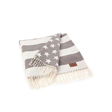 Icons Flag Throw White/Grey