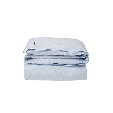 Icons Pin Point Duvet, Blue/White
