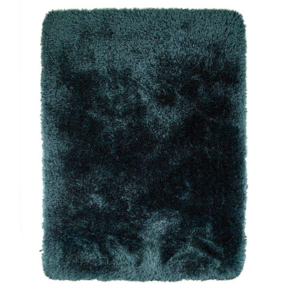 Pearl Teal Polyester Rug