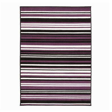 Element Prime Canterbury Purple Black Rug