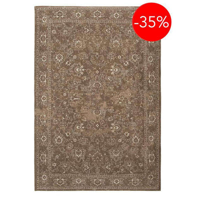 Bobohemian Bobo Flowers 8911 Brown Rugs