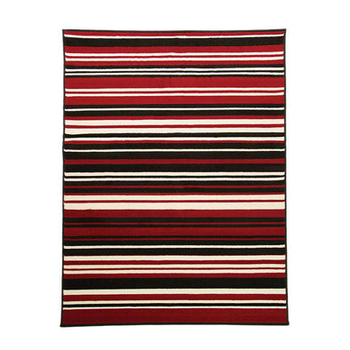Element Prime Canterbury Red Black Rug