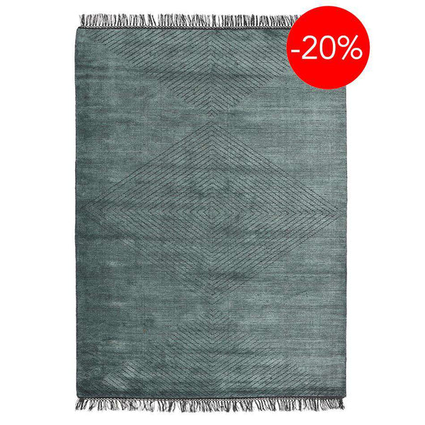 Finestra Teal Rugs