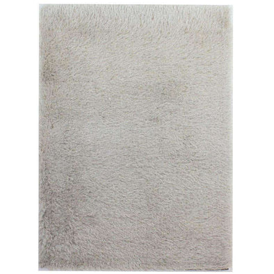 Dazzle Natural Plain Shaggy Rug