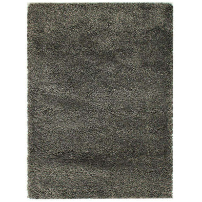 Athena Charcoal Plain Rug