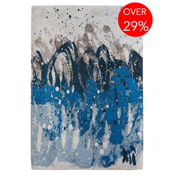 Atlantic Surf 8486 Blue Waves Rugs