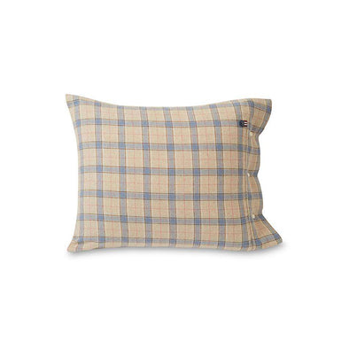 Checked Cotton Flannel Pillowcase