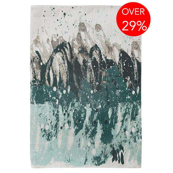Atlantic Surf 8663 Green Waves Rugs
