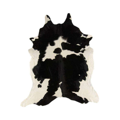 Rodeo Cowhide Black White