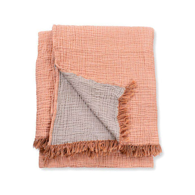 Terracotta Throw Blanket