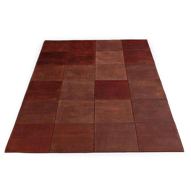 LEATHERrug Brown