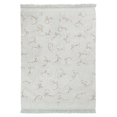 Washable Rug English Gardens Ivory