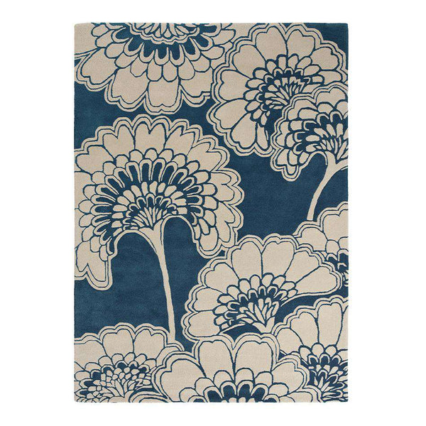 Japanese Floral Midnight 39708