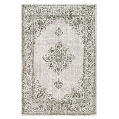 Khayma Fairfield 8679 Green Border Rugs