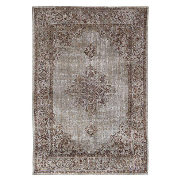 Khayma Fairfield 8667 Cacao Border Rugs