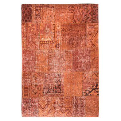 Khayma Farrago 8783 Rusty Orange Eye Rugs