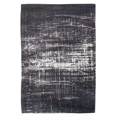 Mad Men Griff 8655 White On Black Rugs