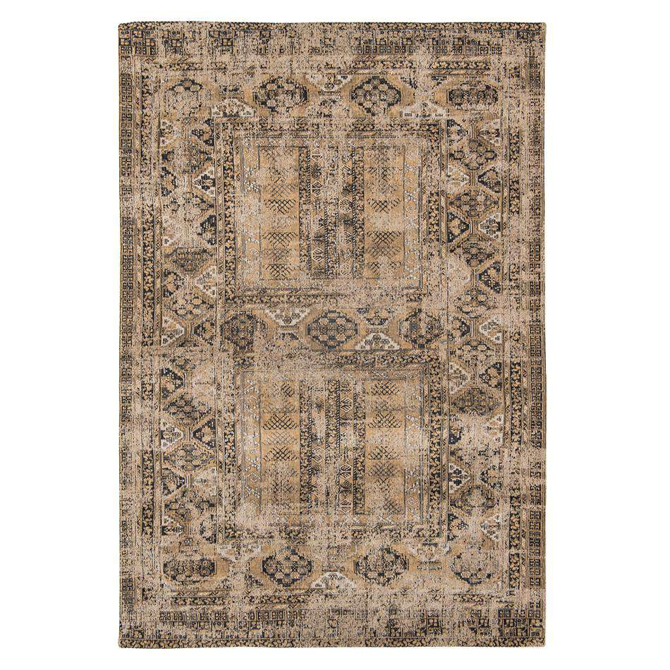 Antique Hadschlu 8720 Agha Old Gold Rugs