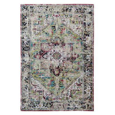 Antique Heriz 8706 Avlu Green Rugs