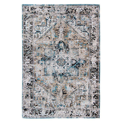 Antique Heriz Teal Rugs