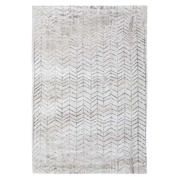 Mad Men Jacobs Ladder 8652 Black On White Rugs