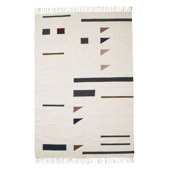 Kelim Colour Triangles Rug