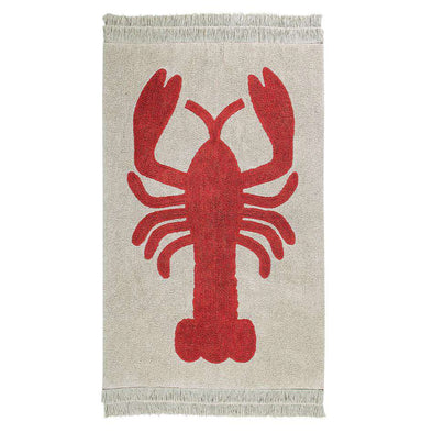 Washable Rug Lobster