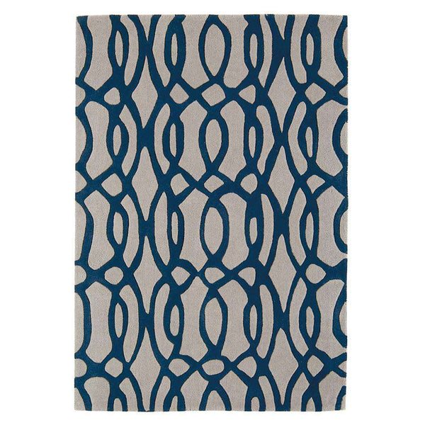 Matrix MAX36 Wire Blue Rugs