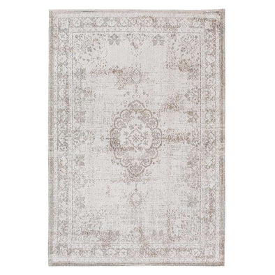 Fading World Medallion 8383 Salt Pepper Rugs