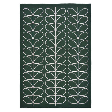 Linear Stem 460507 Jade Outdoor Rug