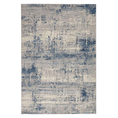 Rustic Textures RUS10 Ivory/ Blue