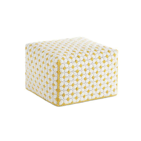 Silai Small Pouf Yellow