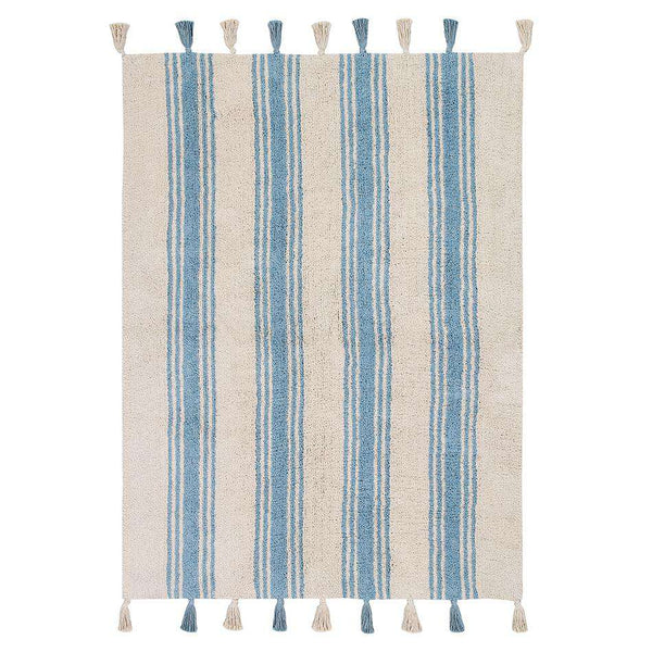 Stripes Nile Blue