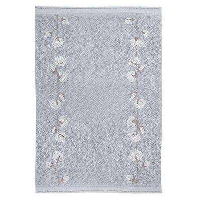 Washable Rug Cotton Bolls