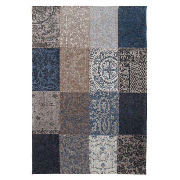 Vintage 8108 Denim Blue Rugs