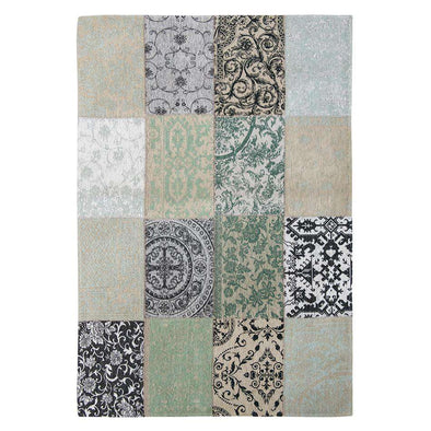 Vintage 8751 Ardennes Green Rugs