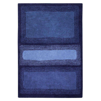 Washable Rug Water Alaska Blue
