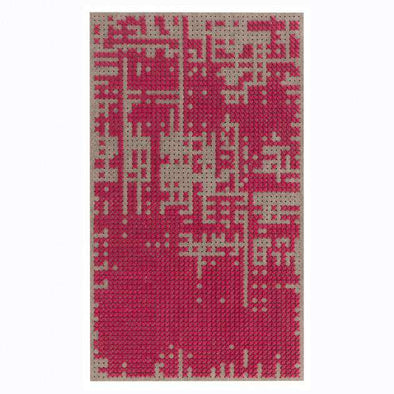 Canevas Abstract Mini Pink