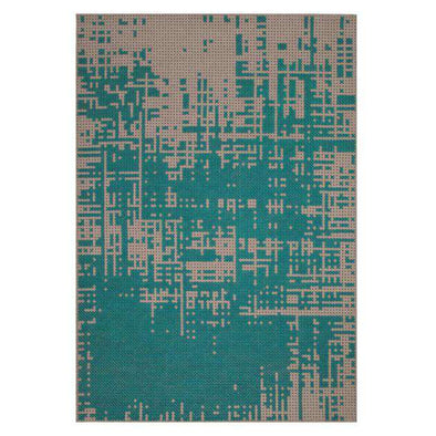 Canevas Abstract Teal
